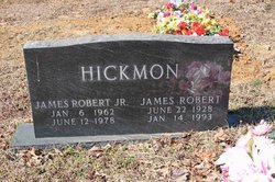 James Robert Hickmon, Jr