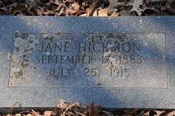 Jane Hickmon