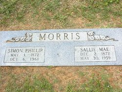 Sallie Mae <I>Pitts</I> Morris