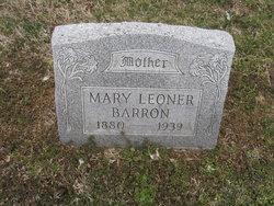 Mary Leoner <I>Dickens</I> Barron