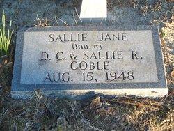 Sallie Jane Coble