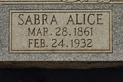 Sabra Alice <I>Hutchings</I> White