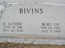 D Luther Bivins