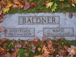 Marie C. <I>Diemer</I> Baldner