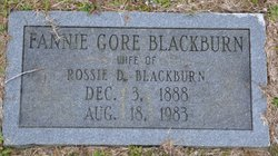 Fannie M <I>Gore</I> Blackburn