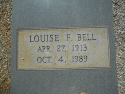 Louise <I>Foster</I> Bell