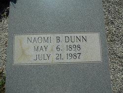 Naomi B Dunn
