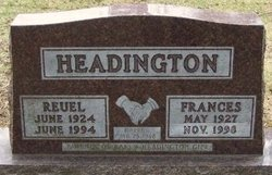 Reuel Wallace Headington