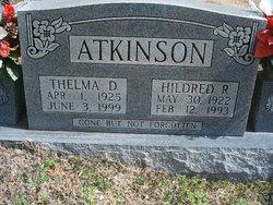 "PFC Hildred Robertson ""H. R."" Atkinson"