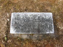 Leslie Milton Bailey
