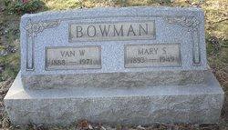 Mary <I>Shriver</I> Bowman