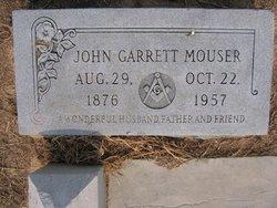 John Garrett Mouser