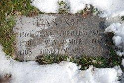 Emily Isabel <I>Meador</I> Easton