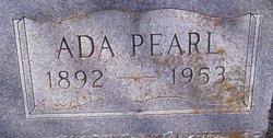 Ada Pearl <I>Hendricks</I> Barton