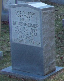 Fritz Bodenheimer