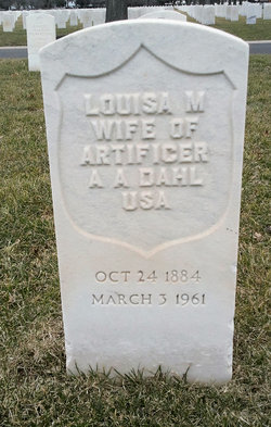 Louisa M Dahl