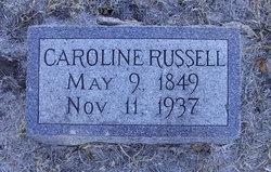 Caroline <I>McClenahan</I> Russell