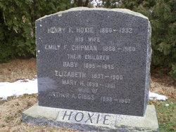 Emily F. <I>Chipman</I> Hoxie