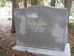 Cyrus Loring Foster