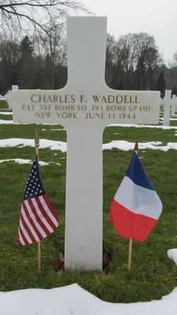 2Lt Charles F Waddell