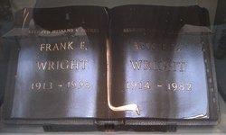 Bessie Lee <I>Cunningham</I> Wright