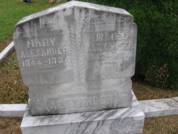 Mary Ann <I>Hall</I> Alexander