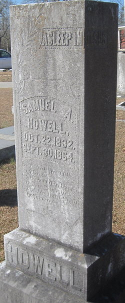 Samuel Armstrong Howell