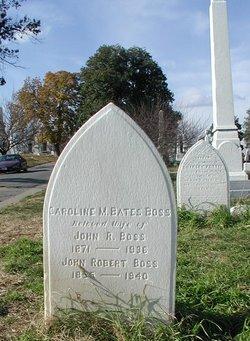 """Caroline Matilda """"Carrie"""" <I>Bates</I> Boss"""