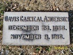 Davis Carneal Anderson