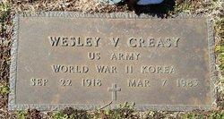 Wesley V. Creasy