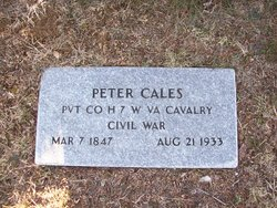 Pvt Peter Cales