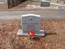 Rebecca Elizabeth <I>Knight</I> Holley
