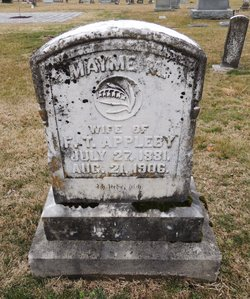 "Mary Grider ""Mayme"" <I>Mourning</I> Appleby"