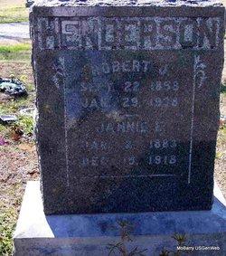 Jannie Effie <I>Thomas</I> Henderson