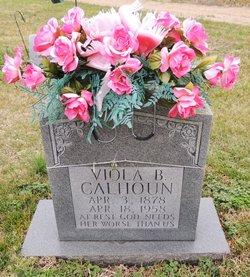 Viola Buford <I>Henry</I> Calhoun