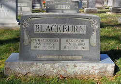 Cynthia G <I>Scronce</I> Blackburn