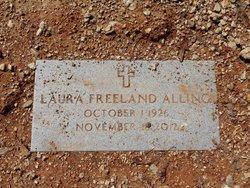 Laura <I>Freeland</I> Alling