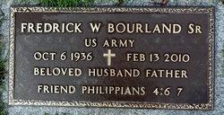 Fredrick W Bourland, Sr