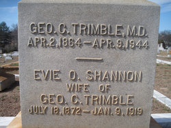 Dr George Calhoun Trimble
