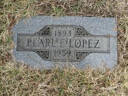 Pearl Elizabeth <I>Hollopeter</I> Lopez