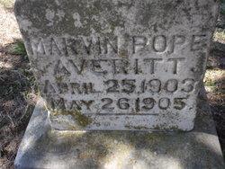 Marvin Pope Averitt