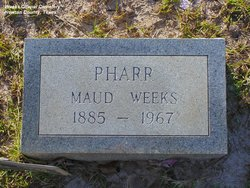 Maude <I>Weeks</I> Pharr