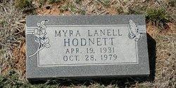 Myra LaNell <I>Knight</I> Hodnett