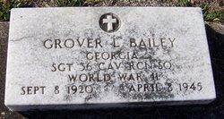 Sgt Grover L. Bailey