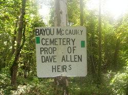Bayou McCauley Cemetery