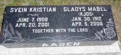 Gladys Mabel <I>Kjos</I> Aasen