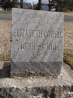Elizabeth <I>Finley</I> Dowell