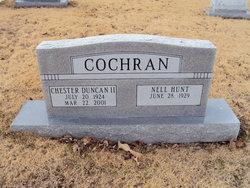 Sgt Chester D Cochran, II