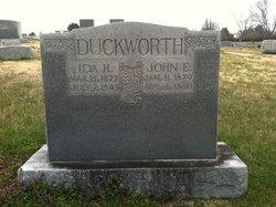 Ida <I>Hodge</I> Duckworth
