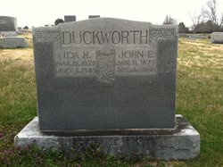 John Edgar Duckworth
